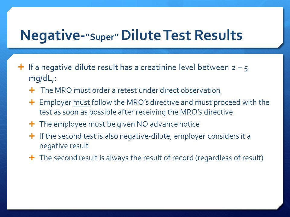 Negative Dilute Drug Test >> Beginner Drug Alcohol Program Manager Training Ppt Download