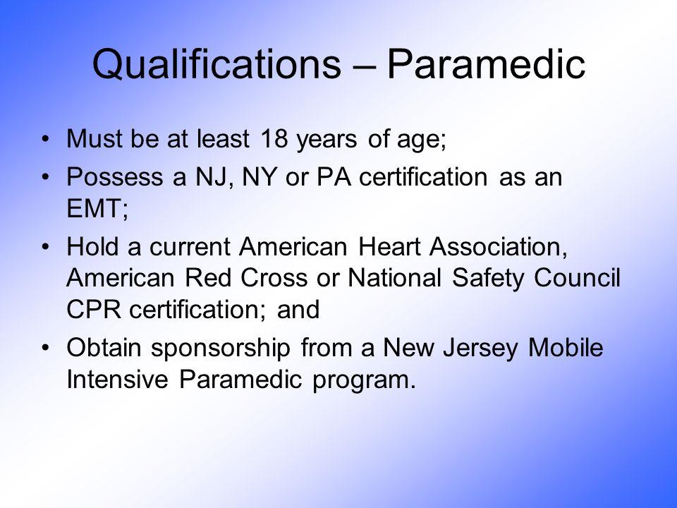 Matthew Scott, BS, MICP Director Virtua School of Paramedic Sciences ...