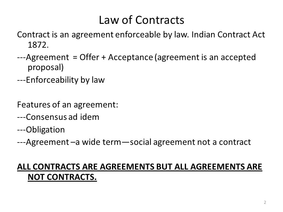 Business Law Module 2 Module Ii Contract Act Ppt Download