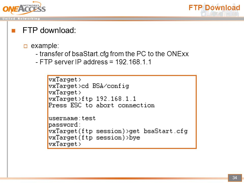 how to get ftp server ip address