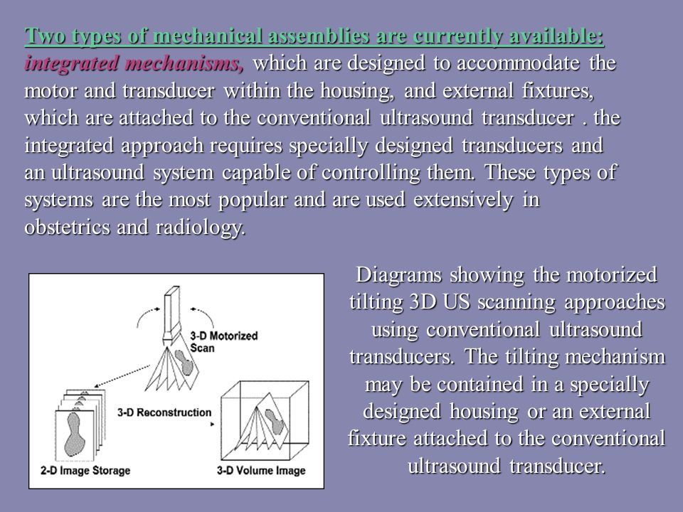 3D and 4D Ultrasound ? Principle  Machine  Application  Examination