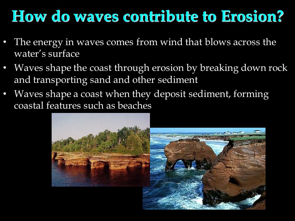 How do waves contribute to Erosion