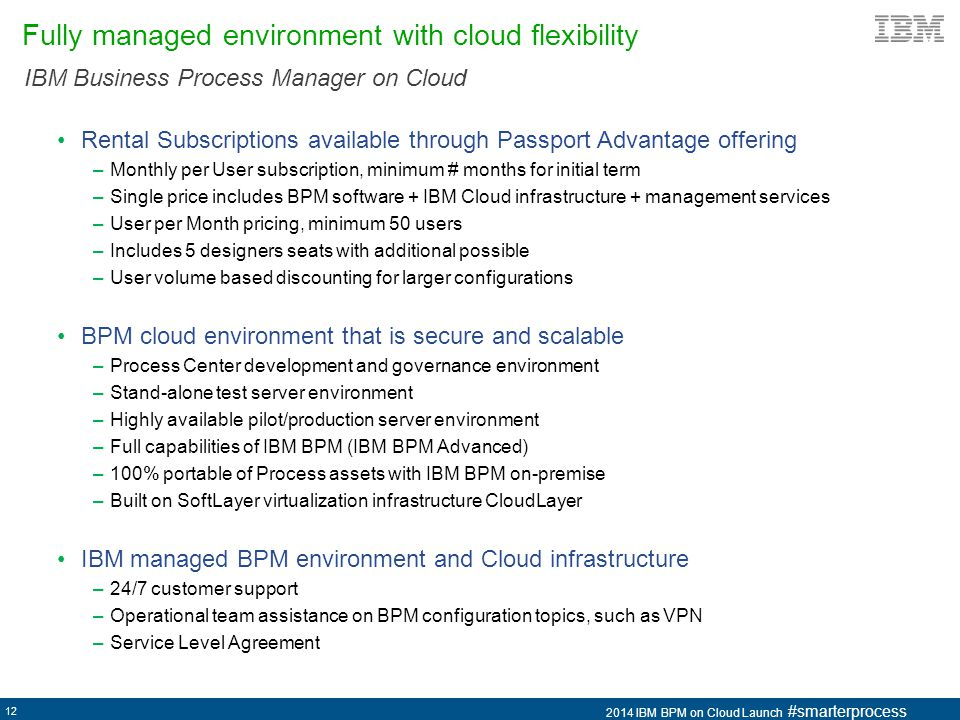 Fully managed environment with cloud flexibility