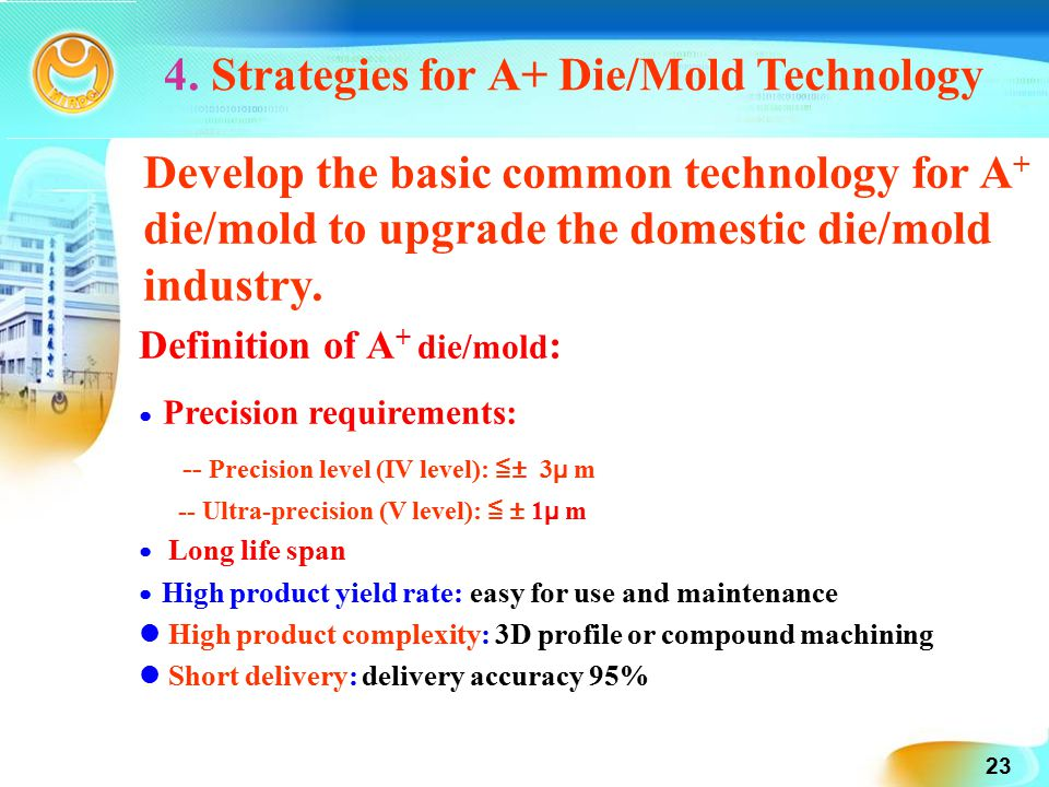 A Common Basic Technology: Die/Mold Technology - ppt download
