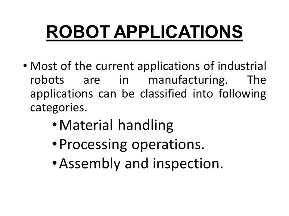 Robotics ppt.