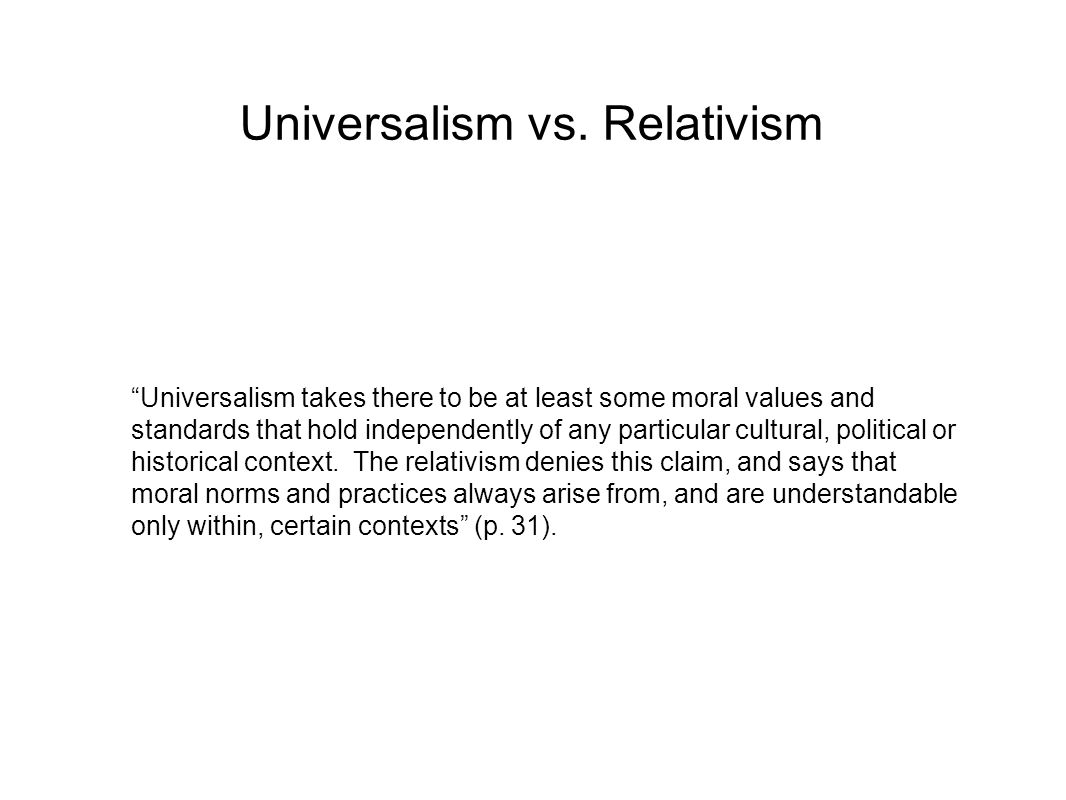 human rights cultural relativism essay Testimony at the un: iran using cultural relativism to justify violations of universal human rights inside look and conflicts being discussed in the united nations find this pin and more on cultural relativism by vanessa marie.