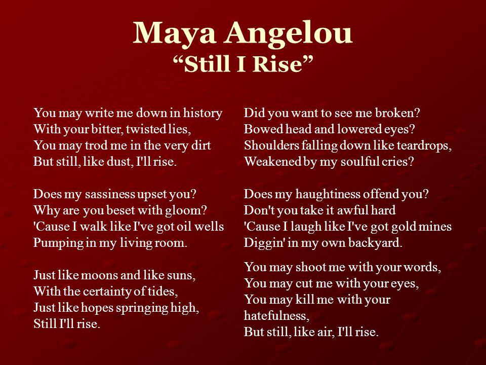 4 Maya Angelou