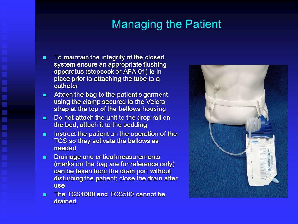 Nursing Instructions For The Tru Close 174 Suction Drainage