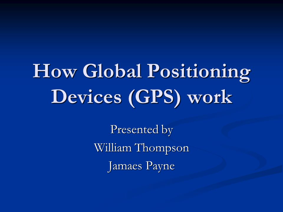 Gps vehicle tracking system |authorstream.