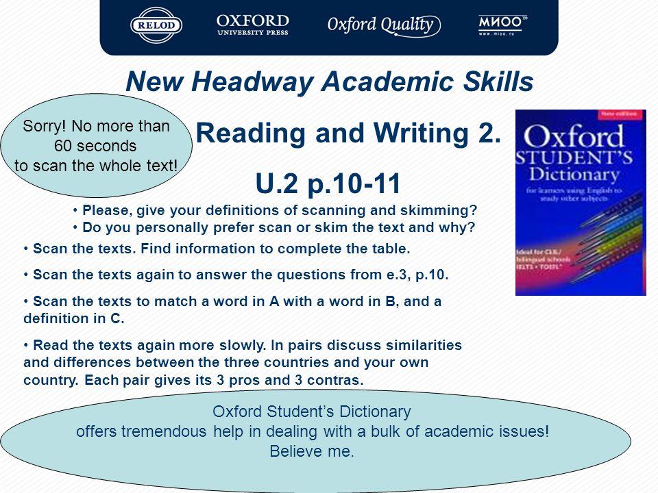 New headway academic skills skills to pass the exams ppt video 14 new headway academic skills fandeluxe Gallery