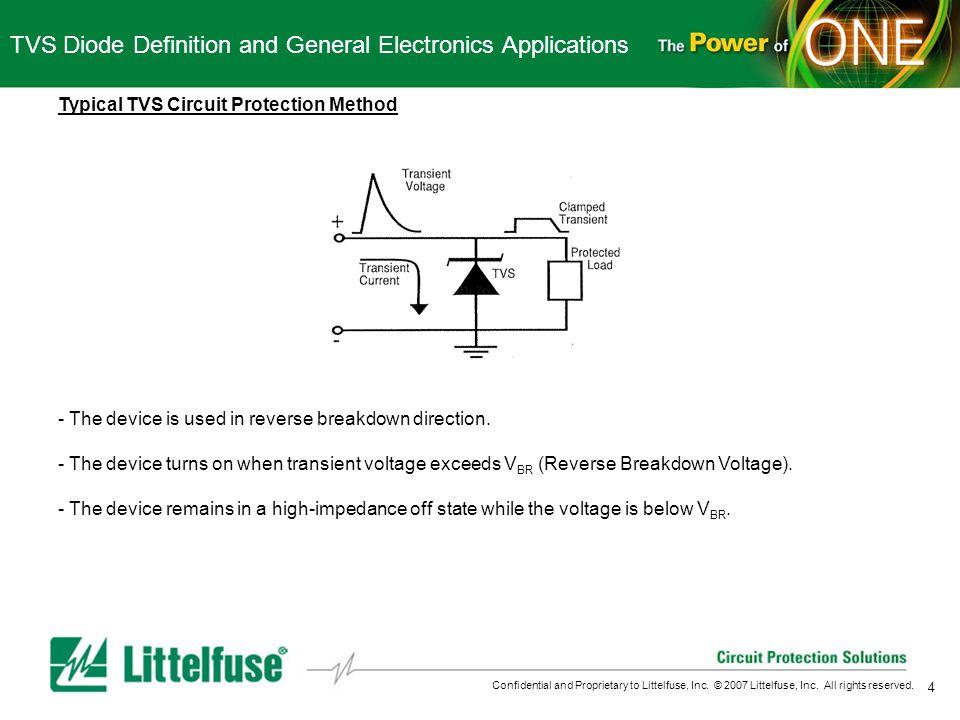 General Electronics TVS Diode Training