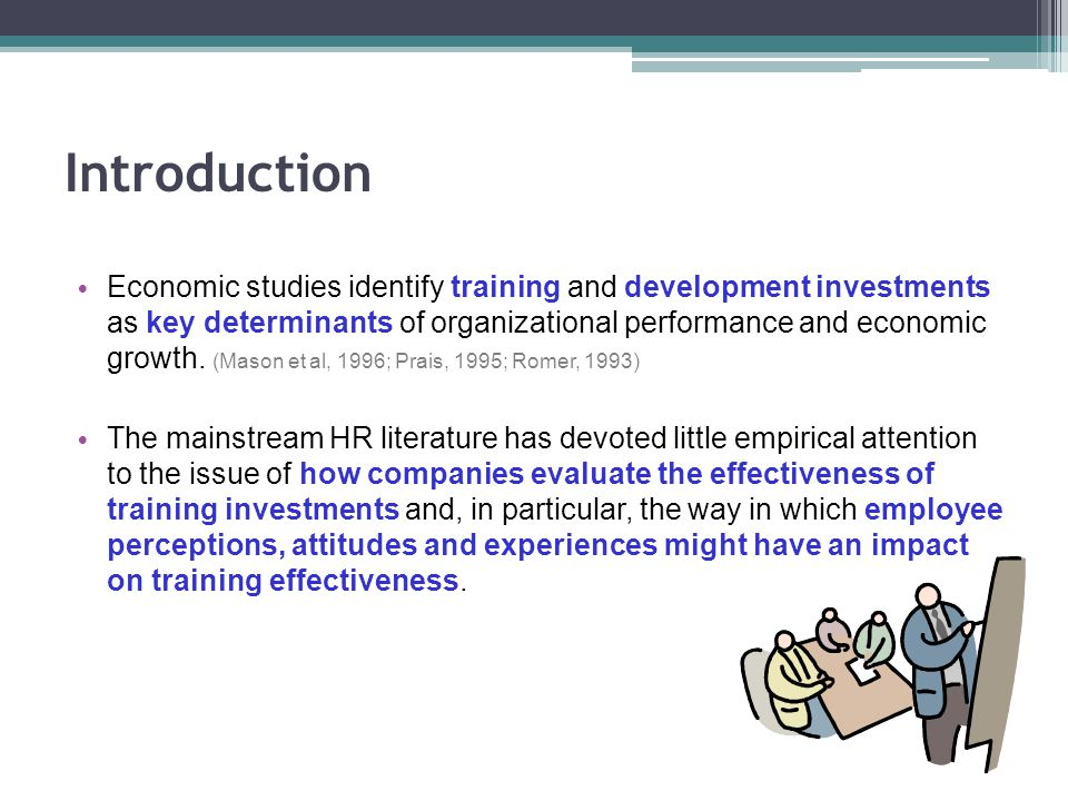 research paper on training and development of employees pdf