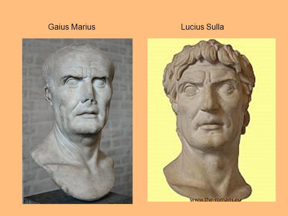 Image result for gaius marius lucius sulla