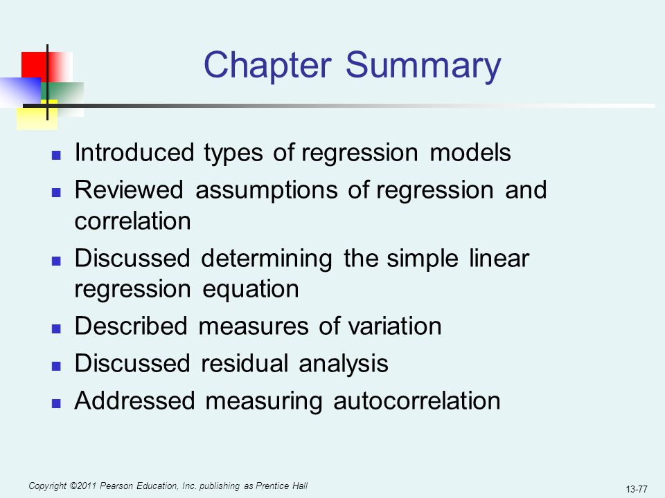 types of regression models pdf