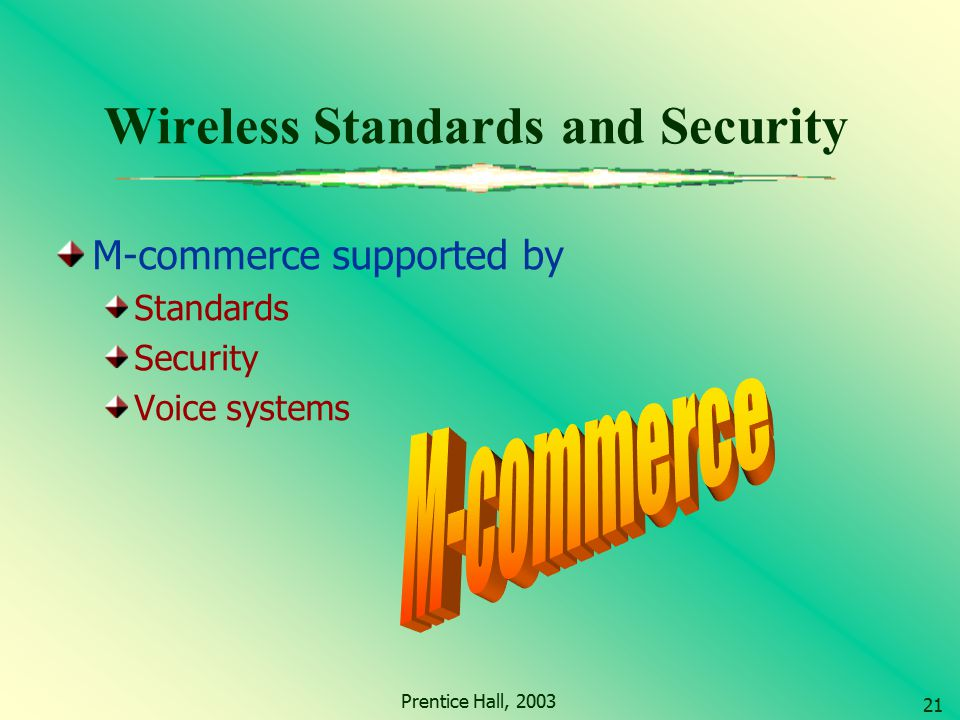 Wireless Standards and Security