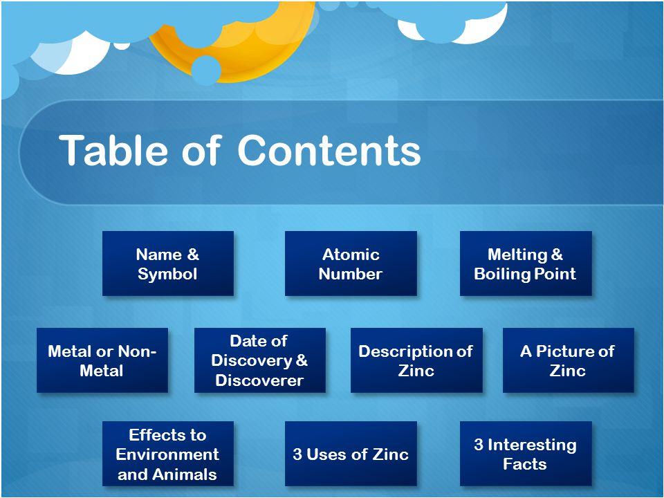 Element Zinc Austin 73 5 Ppt Video Online Download