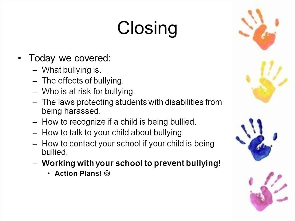 Bullying And Students With Disabilities >> Bullying Students With Disabilities Ppt Video Online Download