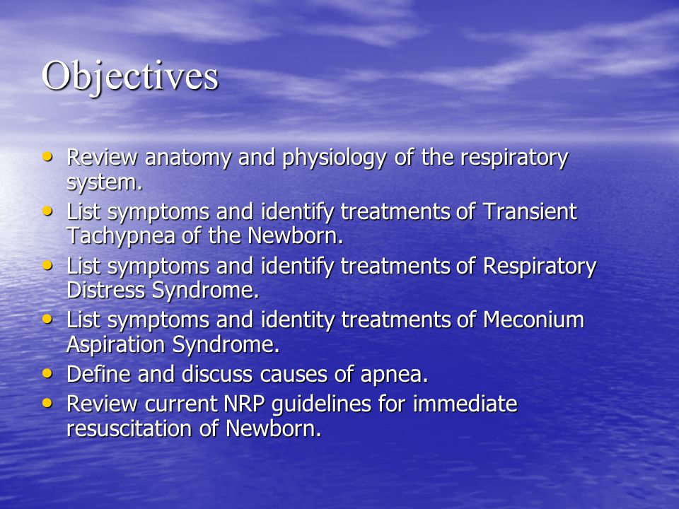 Respiratory System of the Newborn - ppt video online download