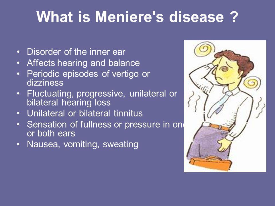 Meniere's Disease Leona Šupljika Gabelica Mentor: A  Žmegač