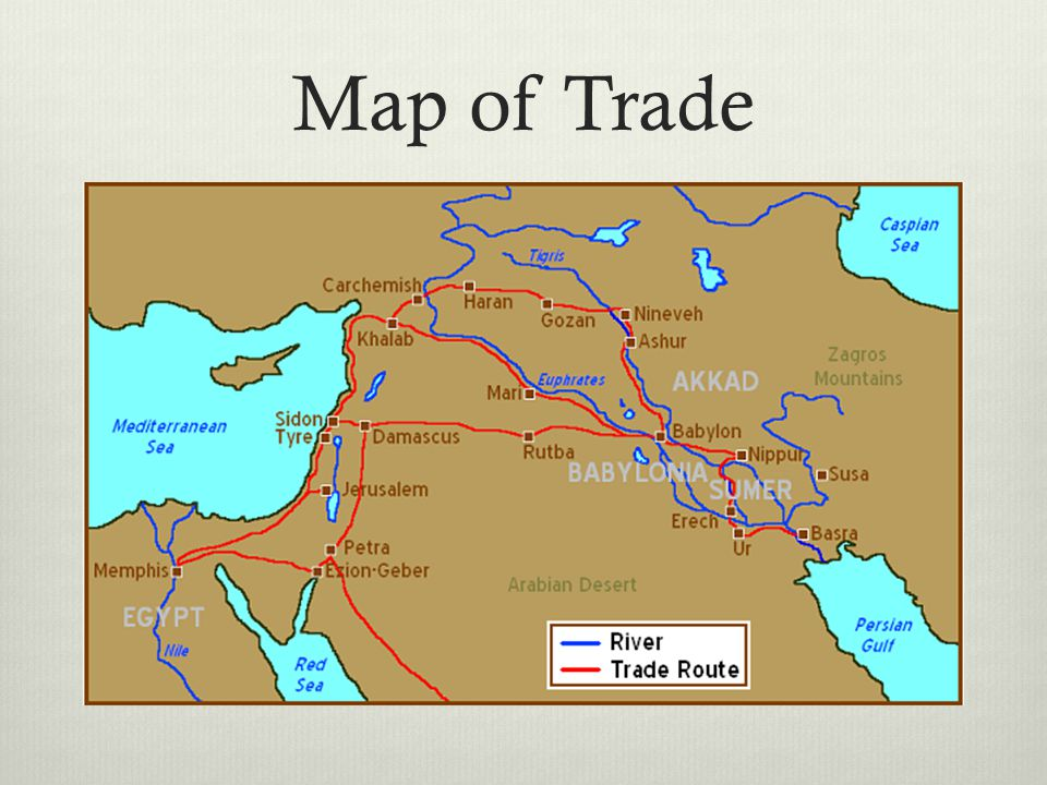 Map of Trade