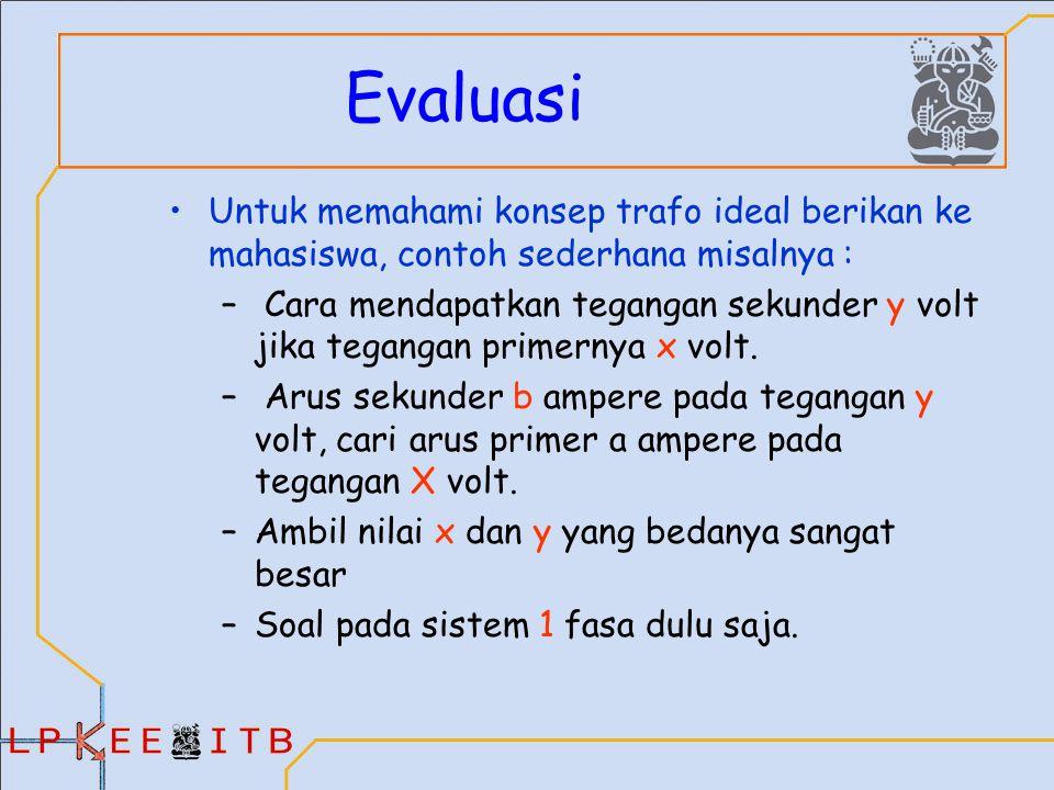 Transformer agus purwadi qamaruzzaman nana heryana ppt download evaluasi untuk memahami konsep trafo ideal berikan ke mahasiswa contoh sederhana misalnya ccuart Gallery