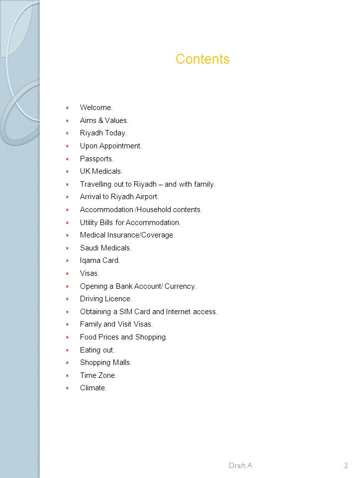 Life in Riyadh Information Booklet - ppt download
