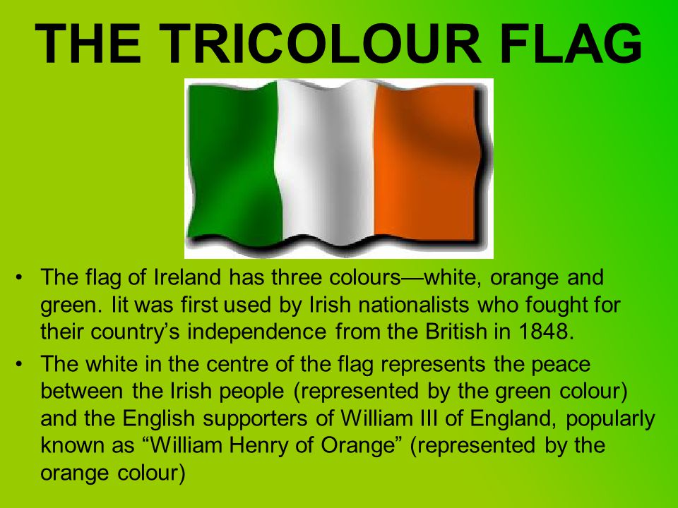 7 The Tricolour