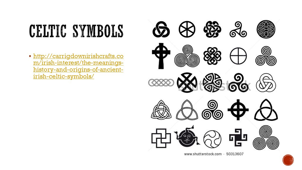 Celtic Symbols And Meanings Topsimages