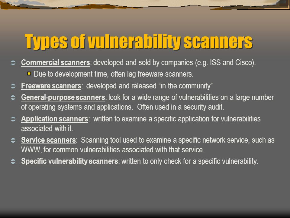 scanning, sniffing, spoofing and man-in-the-middle attacks - ppt ...