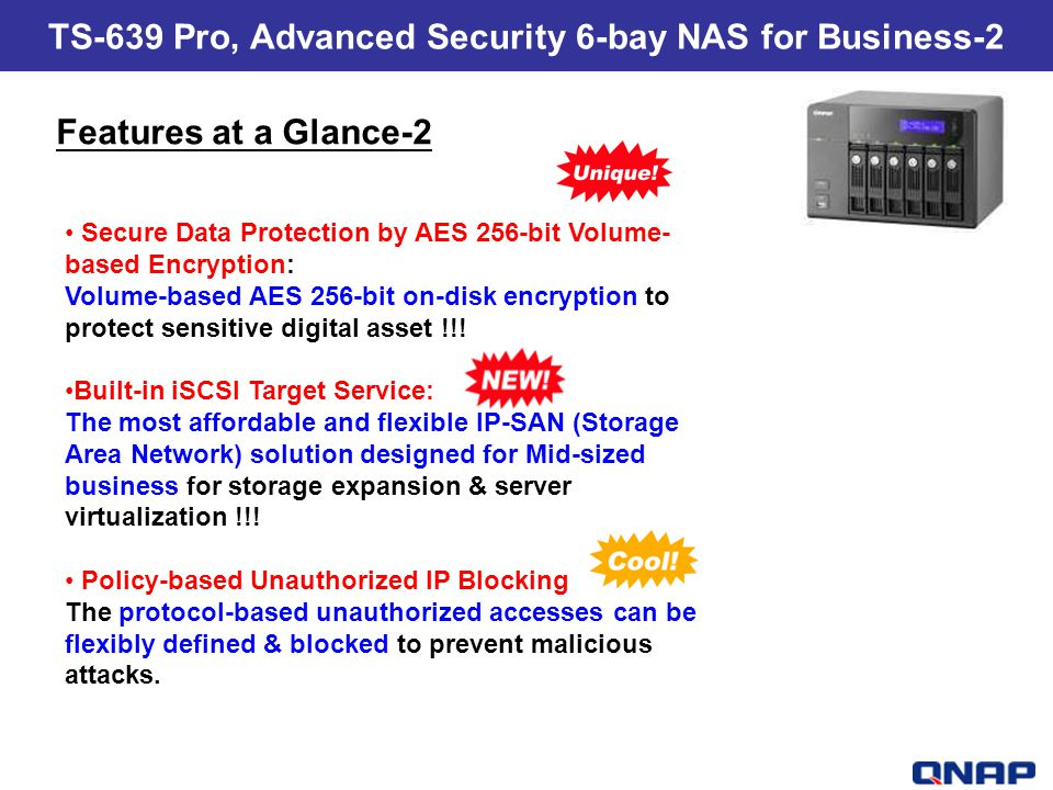TS-639 Pro, Advanced Security 6-bay NAS for Business-2