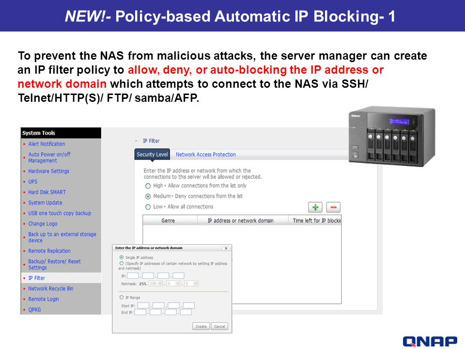 NEW!- Policy-based Automatic IP Blocking- 1