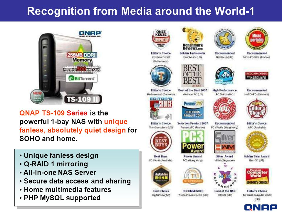 Recognition from Media around the World-1