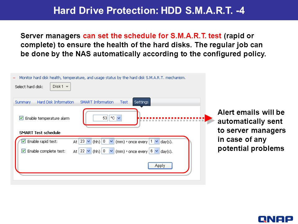 Hard Drive Protection: HDD S.M.A.R.T. -4