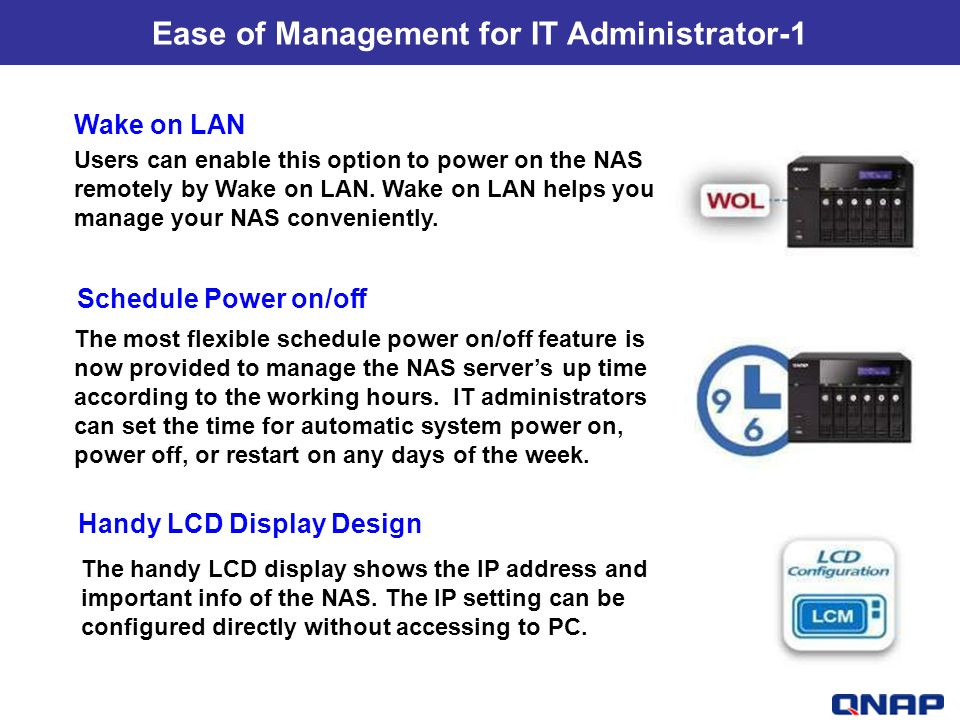Ease of Management for IT Administrator-1