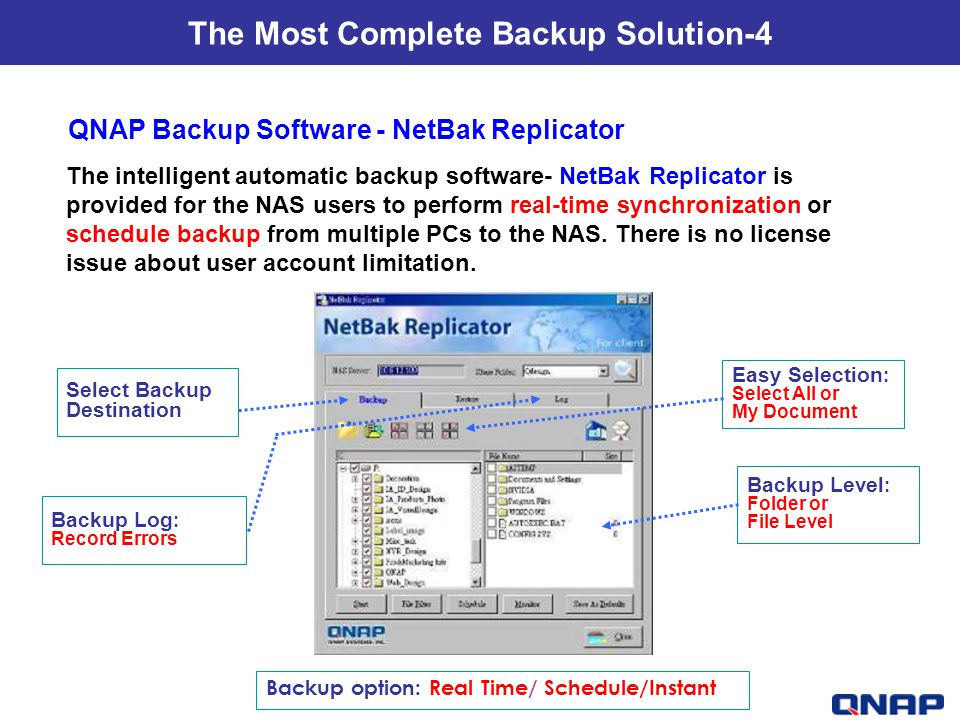 The Most Complete Backup Solution-4