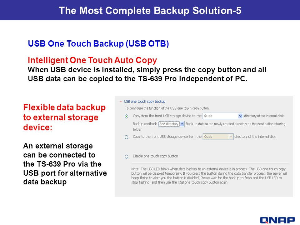 The Most Complete Backup Solution-5