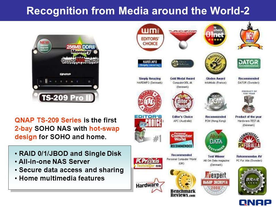 Recognition from Media around the World-2