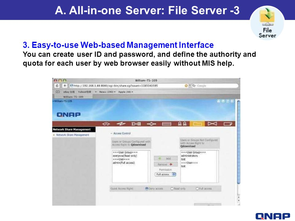 A. All-in-one Server: File Server -3