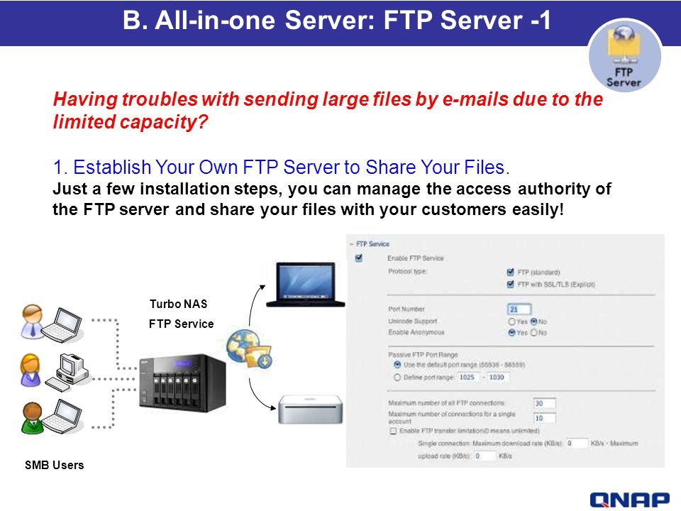 B. All-in-one Server: FTP Server -1