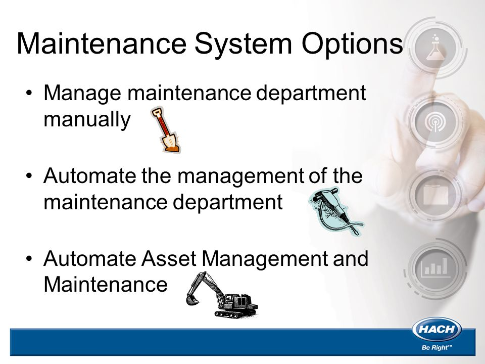 Maintenance System Options