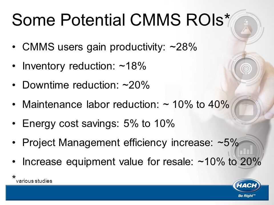 Some Potential CMMS ROIs*