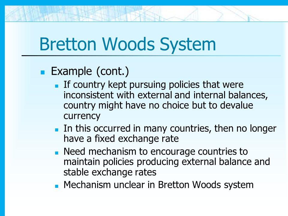 International Monetary Arrangements Ppt Download