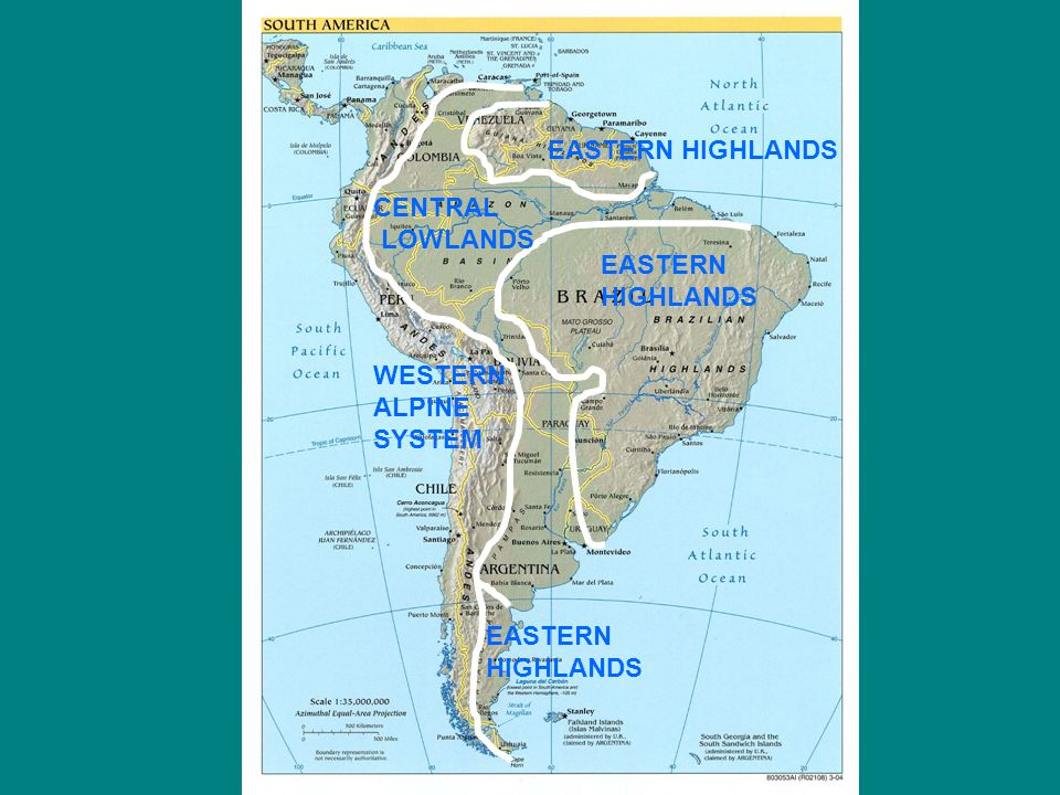 Physiographic Regions - ppt video online download