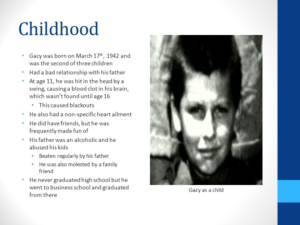 John Wayne Gacy By: Taylor Gallagher  - ppt video online