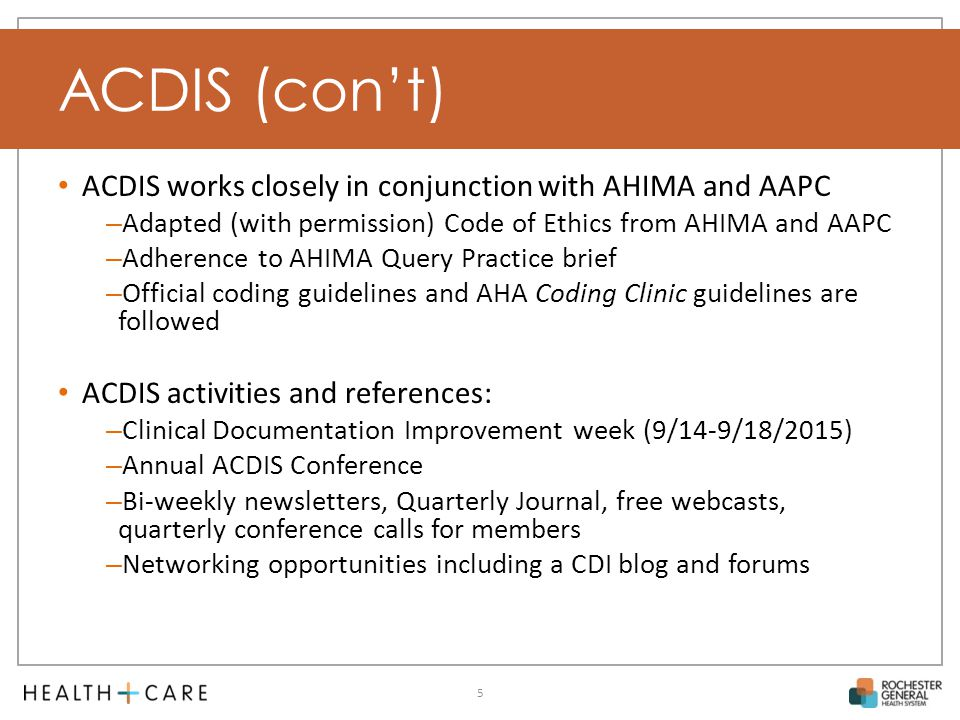 Clinical Documentation Improvement Cdi Overview Ppt Video Online