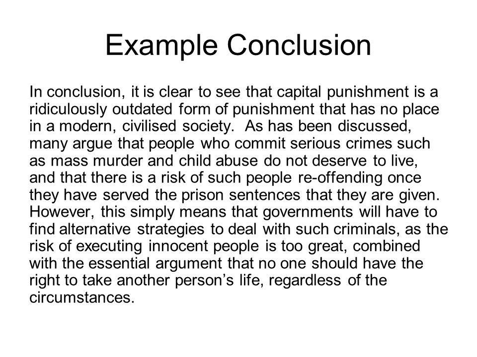 Punishment essay conclusion cheap admission essay ghostwriters services