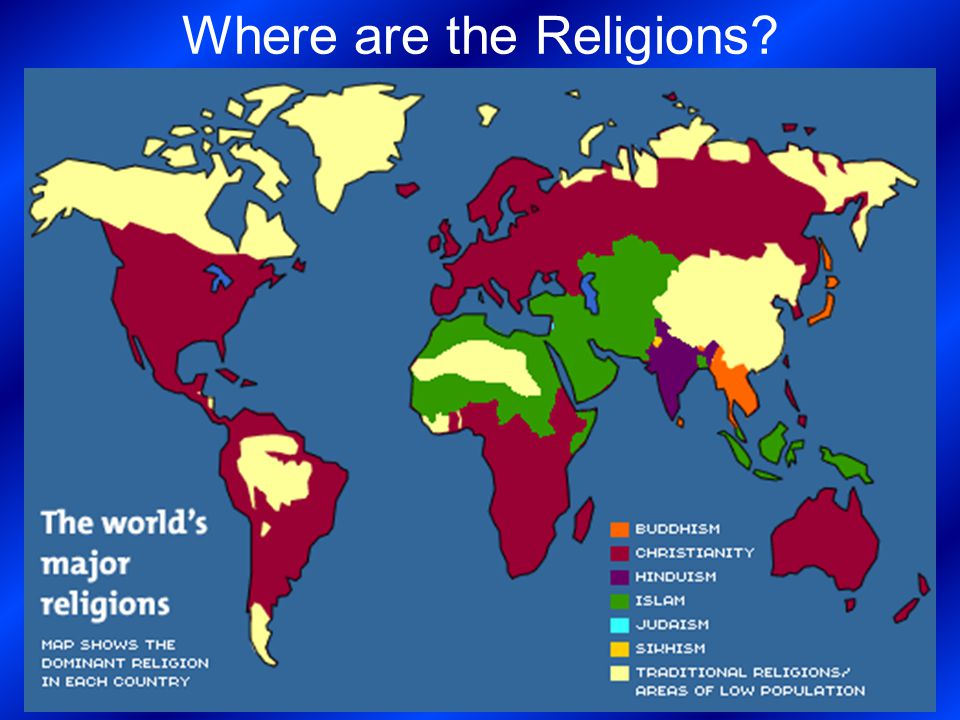 The 5 Major World Religions   ppt video online download