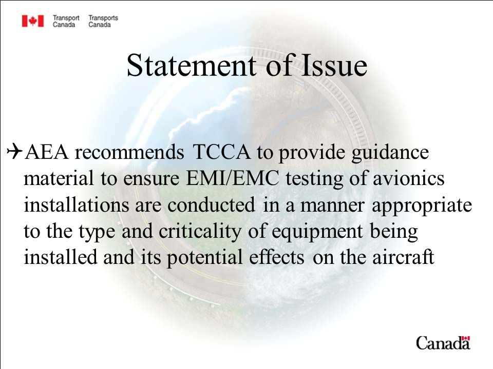 TCCA Aircraft Certification - ppt download