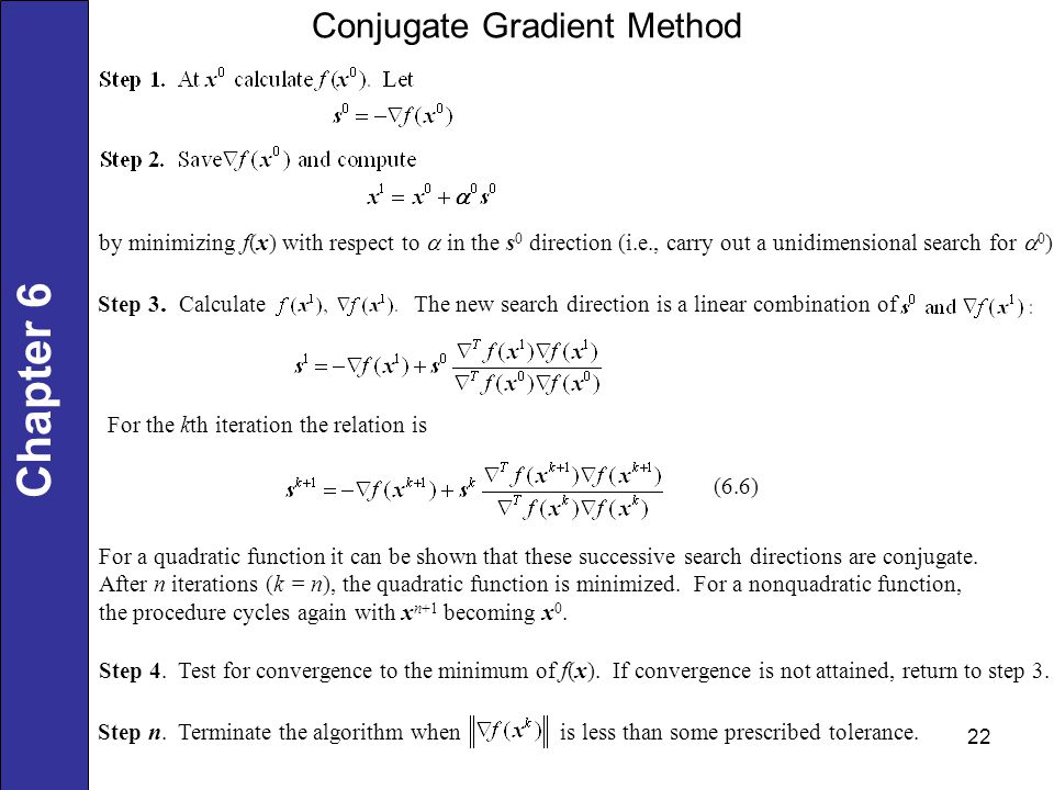 UNCONSTRAINED MULTIVARIABLE - ppt download