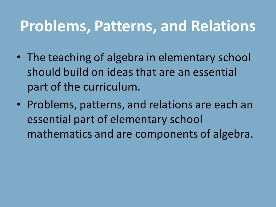 Chapter 14 Algebraic Thinking - ppt download